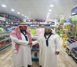 بالفيديوا مكتبة ابن عباس تدعم  دراسات مفوضية كشافة الأفلاج مجانآ