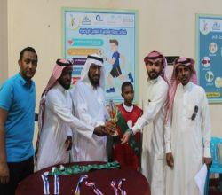 فريق الملك عبدالعزيز بطلا لبطولة المجد والعلياء