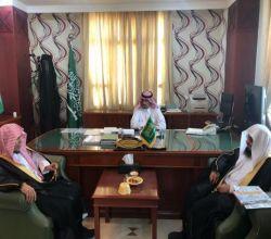 الهزاني يستقبل مدير مركز الدعوة بالأفلاج