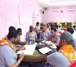 بالصور : تميز وحضور في أولى برامج  رواد مفوضية كشافة الأفلاج