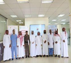 بالصور : بهاء الأفلاج توقع اتفاقية تعاون استراتيجي مع السجن وتدشّن عيادة الإقلاع