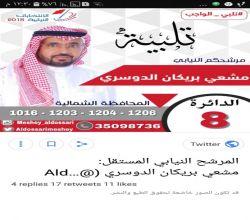 الإعلامي  مشعي البريكان يترشح لإنتخابات المجلس النيابي البحريني