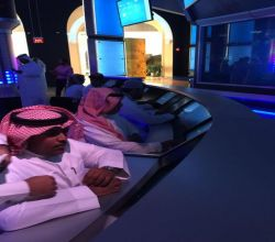 معرض الطاقة يستقبل طلاب ثانوية الملك فهد  بالأفلاج