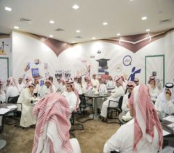 بالصور : ريادة الأعمال بكليات الجامعة  تدرّب 50 طلاب على مهارات القيادة والإدارة