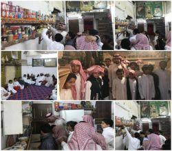 """ طلاب ابتدائية تحفيظ القرآن بليلي يزورون متحف  """"آل تميم """" ويطلعون على  مقتنياته الأثرية"""