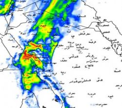 """""""الجهني"""": منخفض جوي بطريقه للمملكة محمَّلاً بالأمطار الغزيرة خلال 24 ساعة"""