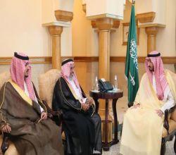 نائب أمير منطقة مكة المكرمة يستقبل أمير الفوج الثالث