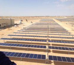 شاهد . أول محطة طاقة شمسية مستقلة في المملكة بسعة 50 ميجاوات في محافظة #الأفلاج .