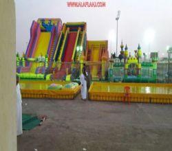 حديقة طريق الملك فهد في الأفلاج مشروع تجاري كبير مُهمل