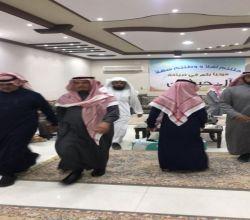 محافظ الدوادمي يقدم واجب العزاء في  وفاة والدة الشيخ مرضي الحبشان