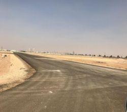 بالصور : الإنتهاء من مشروع أرض وقرض بالأفلاج