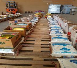 جمعية البر الخيرية بالبديع توزع السلة الغذائية لـ 453 أسرة