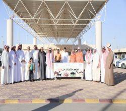 """بالصور ..طلاب كليات جامعة الأمير سطام بالأفلاج يطلقون مبادرة """"أطعم ماشيتك"""""""