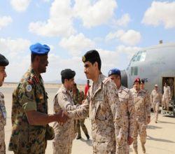 اكتمل وصول القوات البحريه الملكيه السعوديه المشاركة في التمرين البحري السعودي السوداني