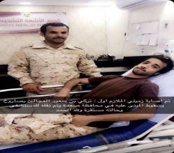 إصابة الملازم أول تركي بن سعود العجالين بصاروخ حوثي في صعدة
