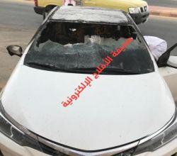 """البطل صالح النتيفات يكشف لـ""""صحيفة الأفلاج """" حادثة حريق السيارة وكيفية إخراج الطفل"""