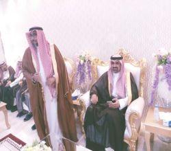 الأمير عبدالعزيز بن فيصل ال سعود في ضيافة قبيلة الكبرا