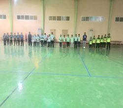 بحضور أعضاء مجلس الإدارة  : تنمية البديع تطلق دوري الفتيان لكرة القدم