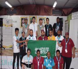للمرة الثالثة على التوالي : كشافة لجنة تنمية الأفلاج تفوز بالتميز في مكة