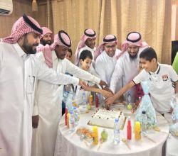 نادي الحي بليلى  يحتفل بعيد الفطر المبارك بحضور ممثل أندية الحي ومدير النادي