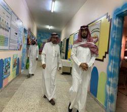 مدير تعليم الأفلاج يواصل جولاته لتأكد من تهيئة مدارس الطفولة المبكرة