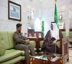 أمير الرياض بالنيابة يستقبل نائب مدير شرطة الرياض المكلف