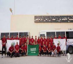 بـ 32 عضو : كشافة لجنة الأفلاج تنطلق لخدمة الحجاج