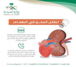 مستشفى الأفلاج . الملح . يسبب السكته الدماغية وامراض القلب وسرطان المعدة وهشاشة العظام