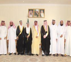 محافظ الأفلاج يلتقي بنائب رئيس جمعية الأدب العربي