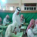 مدير التربية و التعليم في الأفلاج يقوم بجولة لمدارس المحافظة