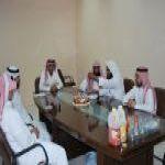 موظفي جمعية إنسان تقيم برنامج تواصل بمناسبة المولود للموظف عبدالعزيز العتيق بالصور