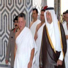 ملك الأردن يصل إلى جدة اليوم