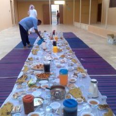 مساجد المحافظة تتنافس على إقامة إفطار لجماعي