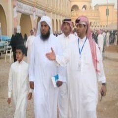 الشيخ مرضي الحبشان في زيارة لمهرجان سياحه وتراث بمحافظة الخرج