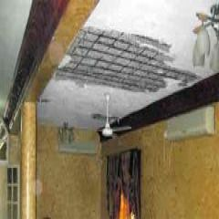 نجاة معلمة ومستخدمه من الموت أثر إنهيار سقف مطبخ في المدرسة