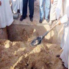 لمحتسبين  الأجر .. الصلاة على جنازة