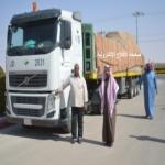"""""""30"""" طن تمور تصل للجمعيات الخيرية في محافظة الأفلاج"""