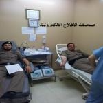 مستشفى الأفلاج يشكر تجاوب رجال الشرطة في التبرع بالدم  ...صــور