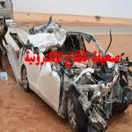 وفاة الشاب محمد الصخابرة أثر حادث إرتطام في تريلة شمال الأفلاج