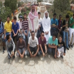 وفد من طلاب الأفلاج يزورون  ملتقى الرحلات الصيفية للفوج الأول في أبهاء
