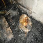 إحتراق شقة أحد الجاليات المصرية بسوق الأفلاج العام