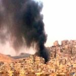 لأول مرة الجيش الحر يقصف القصر الجمهوري بدمشق