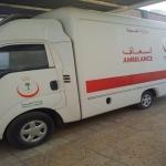 سيارة إسعاف مركز صحي واسط بدون سائق لأكثر من ثلاث سنوات