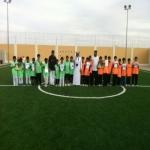 مدرسة أبو موسى الأشعري تفوز على مدرسة ابن رواحه 8-0