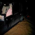 عاجل : مواطن يناشد الدفاع المدني بسرعة الوصول إليه  لاظهار سيارته المحتجزه من نوع جيب سفاري اللون أسود