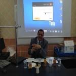 """الدكتور محمود سليم  رئيس قسم الرياضيات بجامعة الامير سلمان بن عبدالعزيز  ألقى محاضرة قيمة  لطلاب """" ثانوية مروان """""""