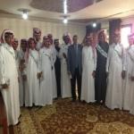 بالصور زيارة ثانوية الأحمر لجامعة الأمير سلمان