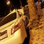 نجاة مواطن من حادث على طريق الملك فهد بالأفلاج