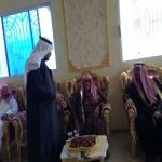 مشائخ قبيلة بني تميم في زيارة لمحافظة الافلاج