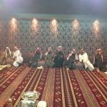 رئيس بلدية البديع المهندس فيصل الرشيدي  في ضيافة رئيس مركز مروان الاستاذ فالح بن سعد العمار